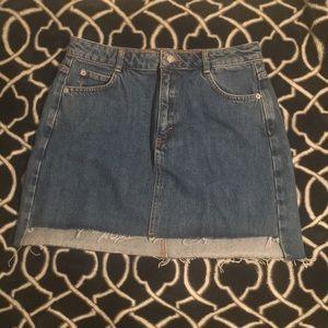 TOPSHOP Jean skirt